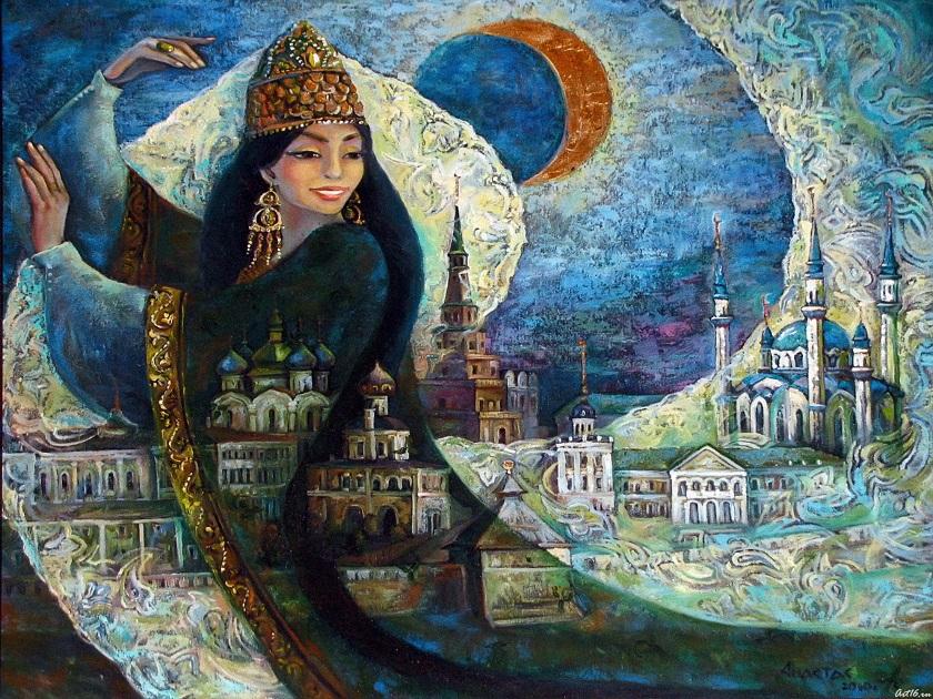 Легенды о Казани Сююмбике