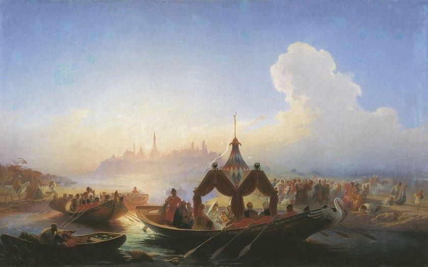 Легенды о Казани