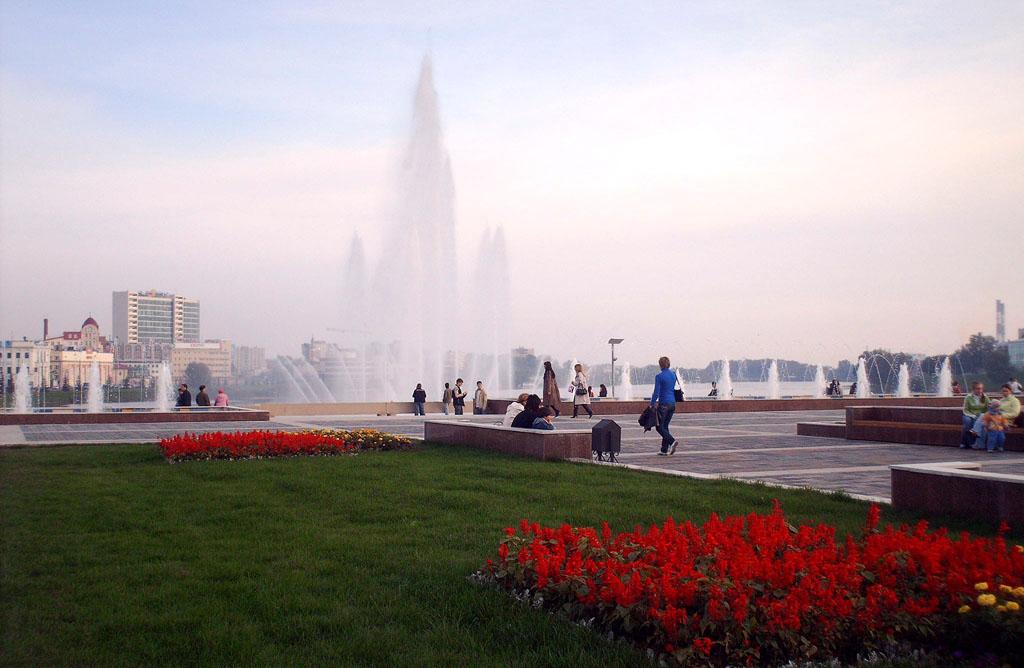 Казань фонтаны