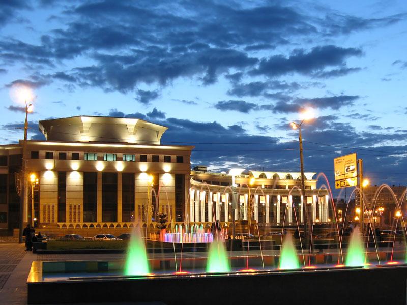 Поющие фонтаны Казань