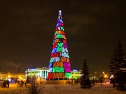 Казань в Новый год мал