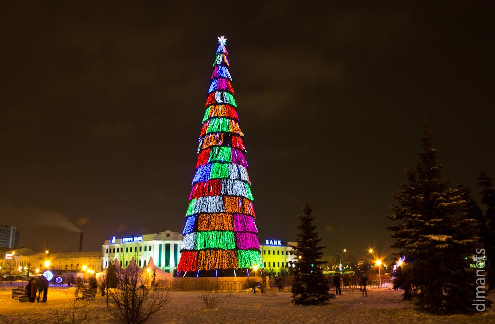 Казань в Новый Год