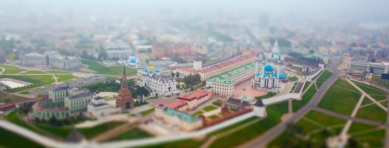Казань весной