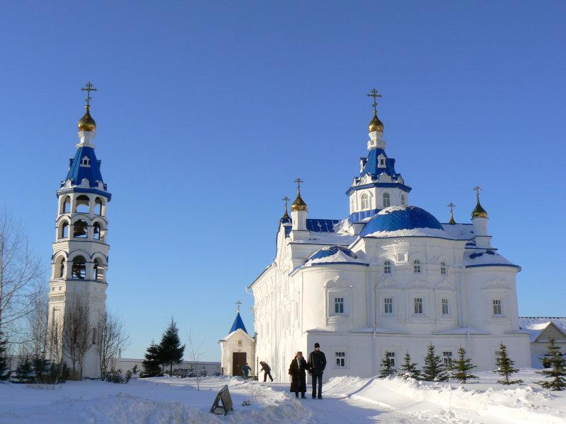 Зилантов монастырь Казани